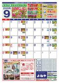 2020/09/01 9月暮らしのカレンダーとポイントプラス